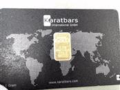 KARATBARS Gold Bullion 2.5 GRAMS BULLION